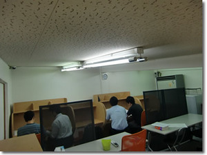 授業風景4F