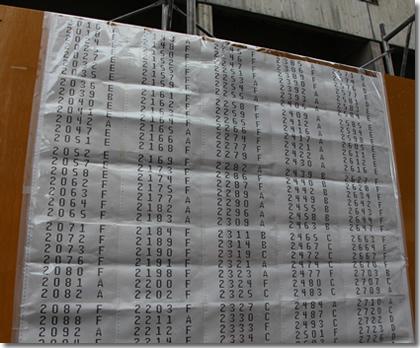2013年京都大学工学部合格発表(その9)
