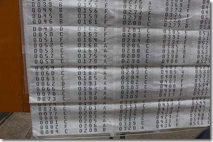 2013年京都大学工学部合格発表(その2)