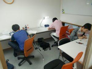 授業風景5(京都市学習塾4階)